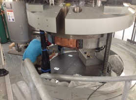 Radiographic Inspection of Cyclotron Welds